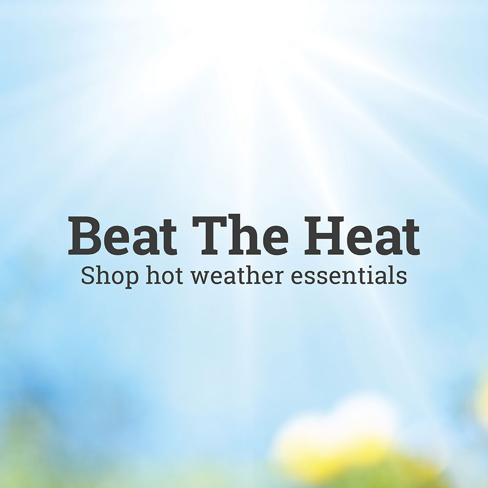 Summer's Here, Let us help you Beat the Heat!