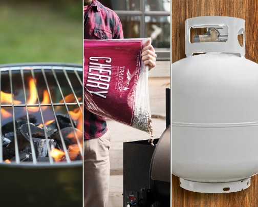 Fuel up with us. We're your source for grilling.